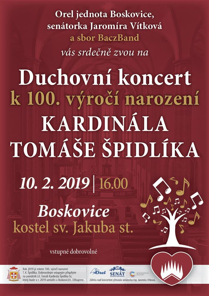 boskovice spidlik koncert 2019