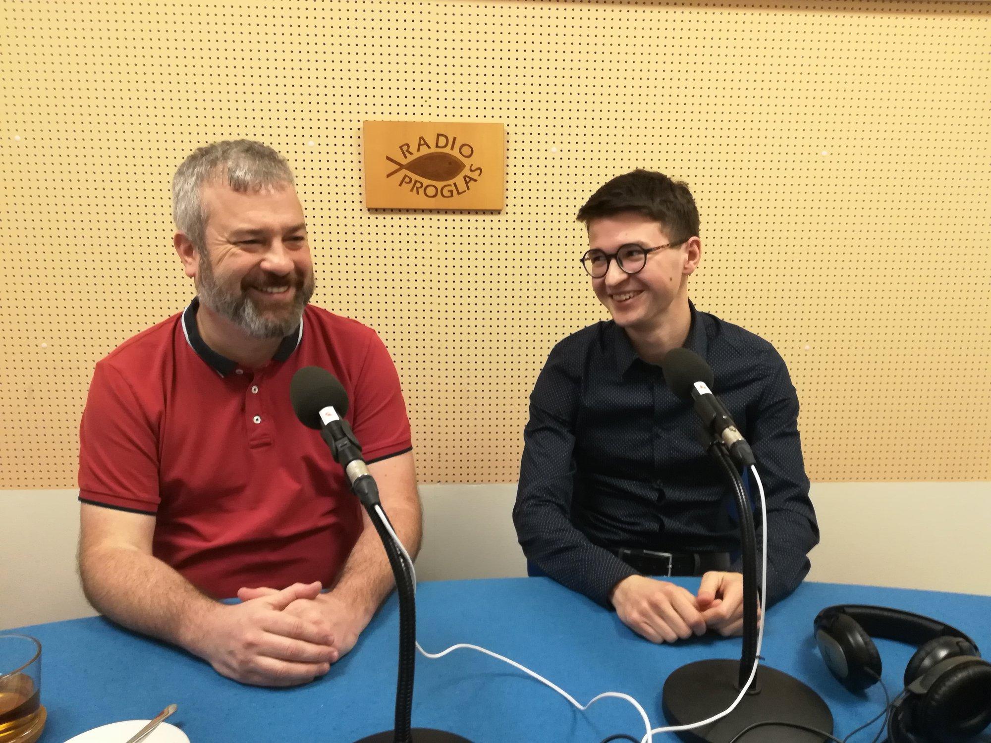 Pavel Gruber s Ondřejem Havlíčkem.